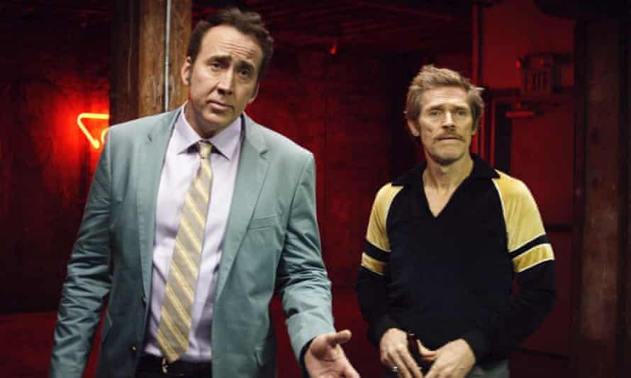 'Muddy': Nicolas Cage and Willem Dafoe in Dog Eat Dog