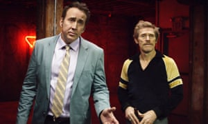 'Stomach-churning brio': Nicolas Cage and Willem Dafoe in Dog Eat Dog