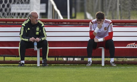 Vicente Del Bosque: Iker Casillas was the only Spain player I didn't write to