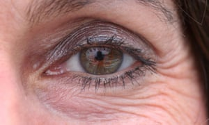 eye of a middle-aged womanCW754F eye of a middle-aged woman
