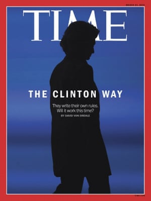 Time magazine cover of Hillary Clinton, March 23 2015