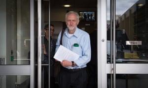 A leadership battle that began as 'least-faceless technocrat wins' has become 'Stop Jeremy Corbyn'