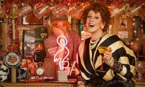 'Wow – it's amazing!' … Diane Chorley recreates that caravan cabaret feeling in Down the Flick.