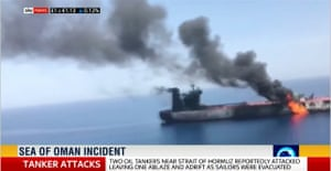 Oil tanker 'attacked' in the Gulf of Oman