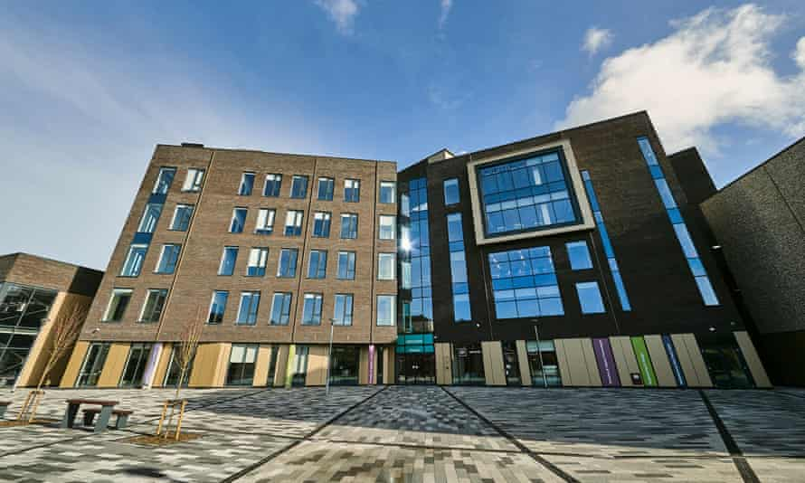 The University of Chichester's new £35m Tech Park.
