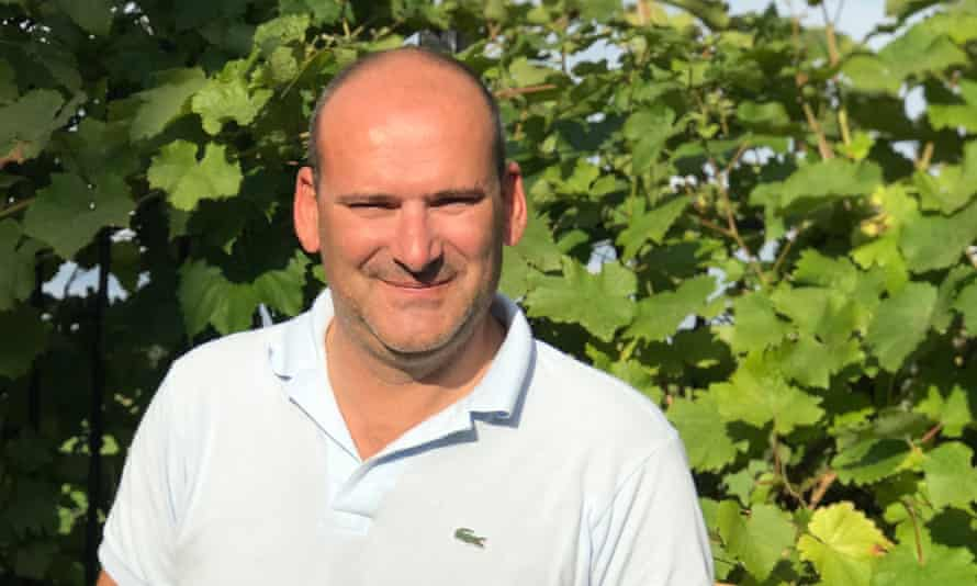 Wine importer Daniel Lambert