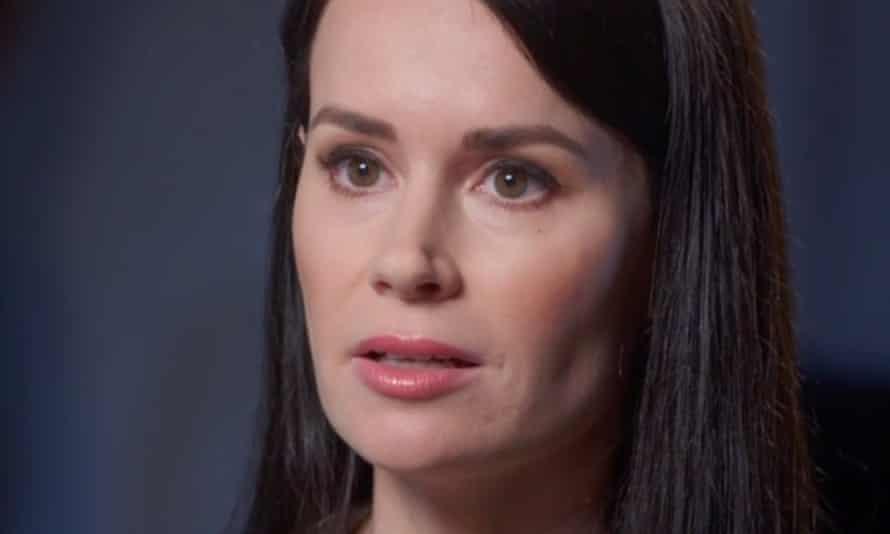 Kylie Moore-Gilbert speaking to Sky News