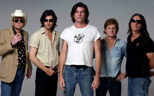 Australian rock group the Beasts of Bourbon