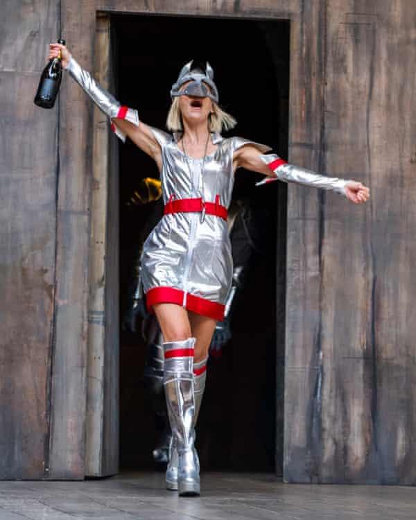 Beth Cordingly as Lady Capulet.