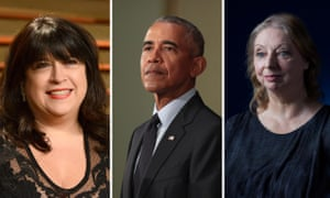 Contenders … EL James, Barack Obama and Hilary Mantel.