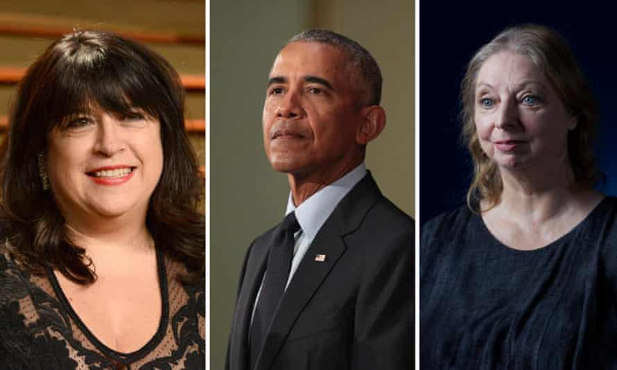 Contenders … EL James, Barack Obama and Hilary Mantel.