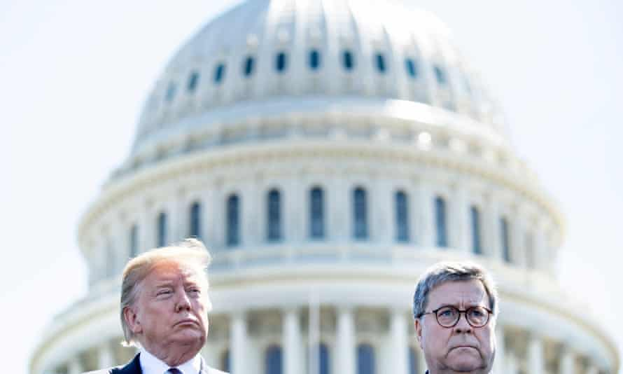 Donald Trump said on 14 December that Bill Barr, who contradicted his claims that the election was marred by fraud, would leave office after doing an 'outstanding job'.