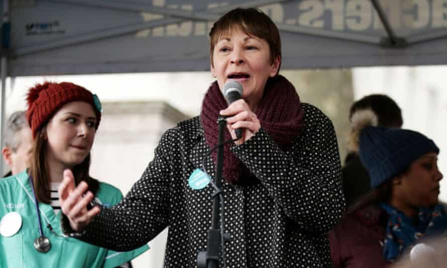 MP Caroline Lucas