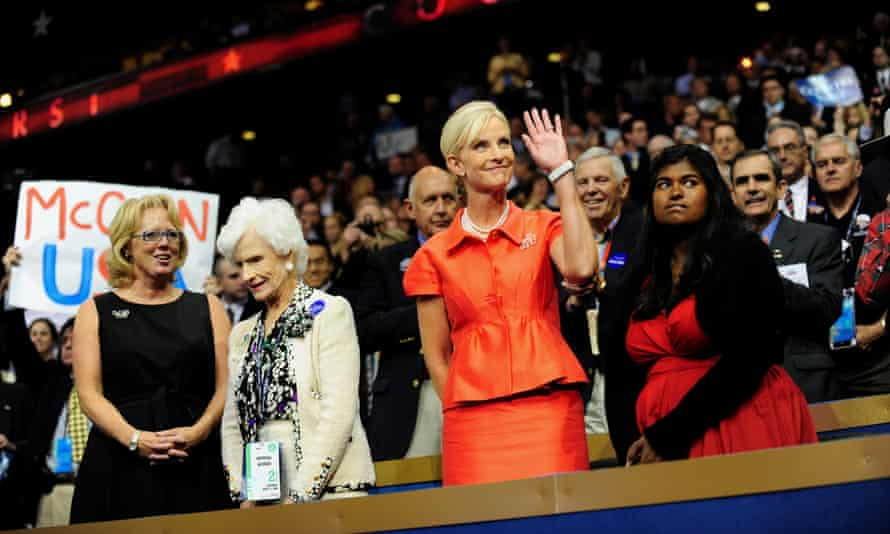 Cindy McCain at the Republican National Convention in 2008.