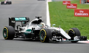 Lewis Hamilton during practice for the Mexican Grand Prix.