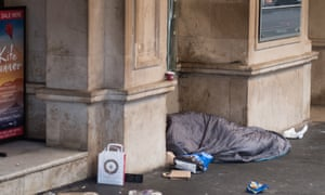 Homeless Figures Reveal 255,000 Have No Permanent HomeLONDON, ENGLAND - DECEMBER 06: A homeless person sleeps in a doorway in the West End on December 6, 2016 in London, England. Homelessness charity Shelter estimates that more than a quarter of a million people have no permanent home. Westminster in London is one of the worst hotspots for homelessness in England with one in 25 without a home according to Shelter figures.(Photo by Jack Taylor/Getty Images)