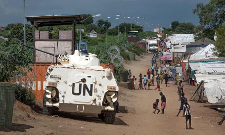 UN troops in South Sudan