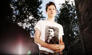 Seattle-based solo artist Mike Hadreas, aka Perfume Genius, photographed in Glasgow