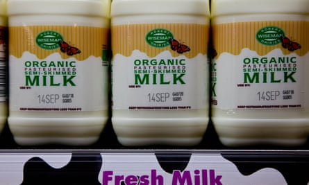 Organic milk … better off buying more frut and veg?