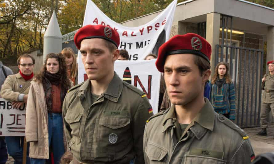Martin and Alex at a peace protest