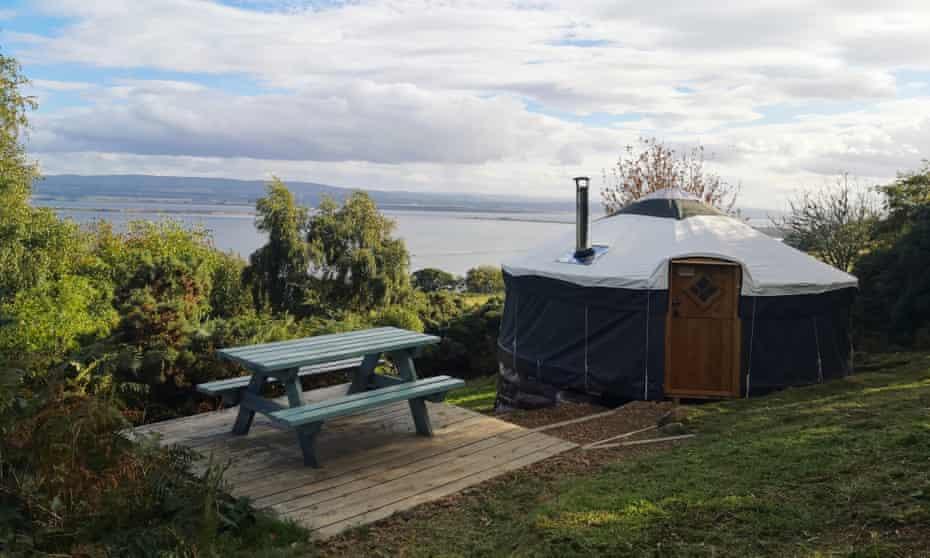 Black Isle Yurts, Rosemarkie, I