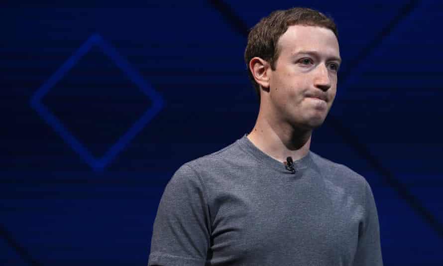 Mark Zuckerberg, Facebook chief