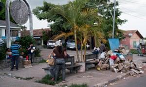 Venezuela refugees in Pacaraima