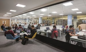 Falmouth University's library