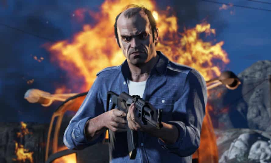 Grand Theft Auto V, the sixth best-selling game of 2016 across all formats.