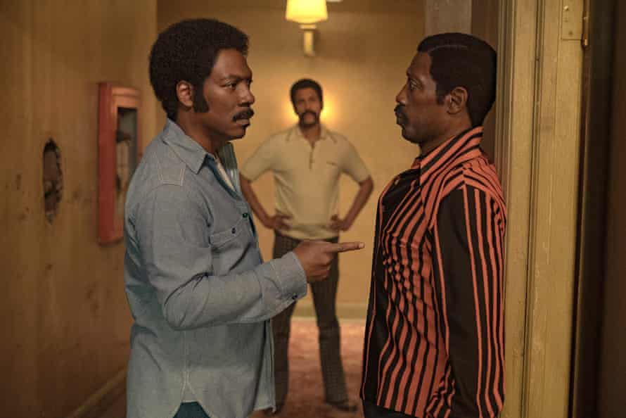 With Eddie Murphy in Dolemite Is My Name.