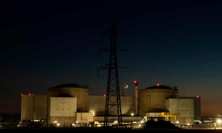 Fessenheim nuclear power plant last Wednesday