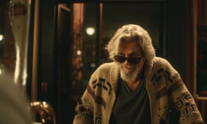 'Careful man, there's a beverage here!' … Jeff Bridges reprises the Dude.