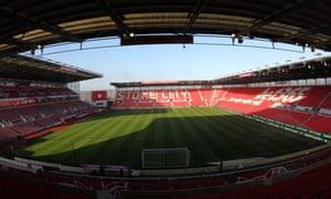 A panorama of Stoke City's Bet365 stadium