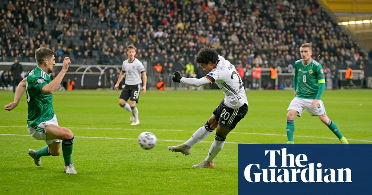 Serge Gnabry hat-trick helps Germany thrash Northern Ireland 6-1