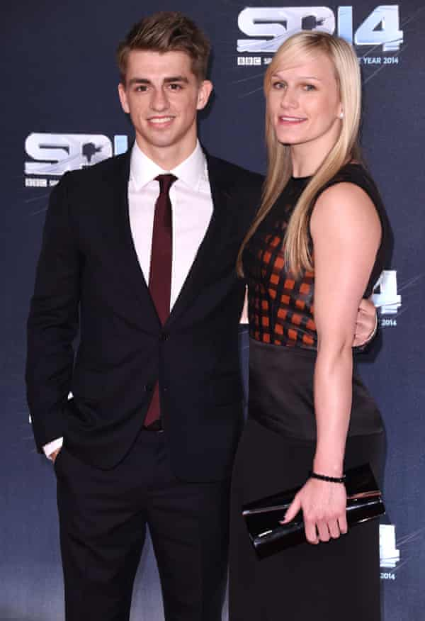 Max Whitlock with fiancée Leah Hickton
