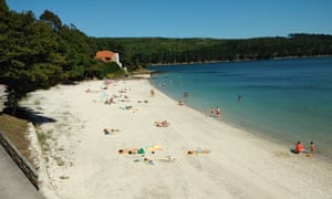 Lingunde beach, Camariñas,