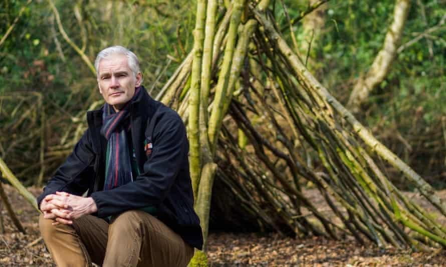 Mark Holroyd at Aylmerton outdoor education centre in Cromer, Norfolk.