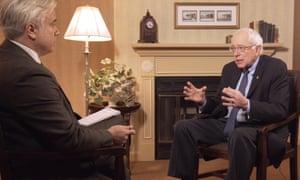 Bernie Sanders interview with Dan Roberts.