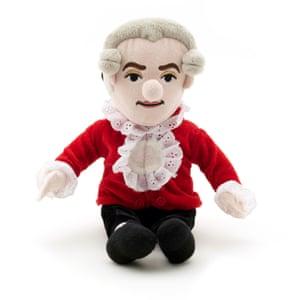 Mozart music box toy