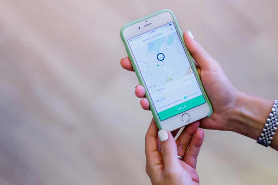 Careem ride-hailing app