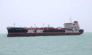 The oil tanker Stena Impero was seized by Iran.