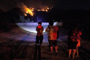 fire near santiago