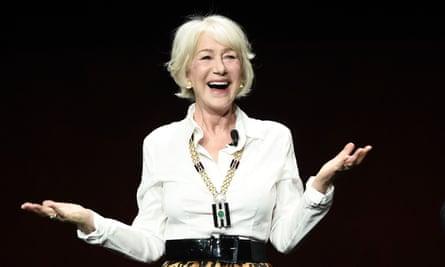 Dame Helen Mirren attacked Netflix at CinemaCon in Las Vegas last week.