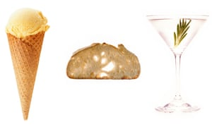 Food that might be made using bodily fluids - composite image