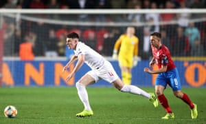 Declan Rice takes nothing for granted with regards to playing England – 'the competition is strong'.
