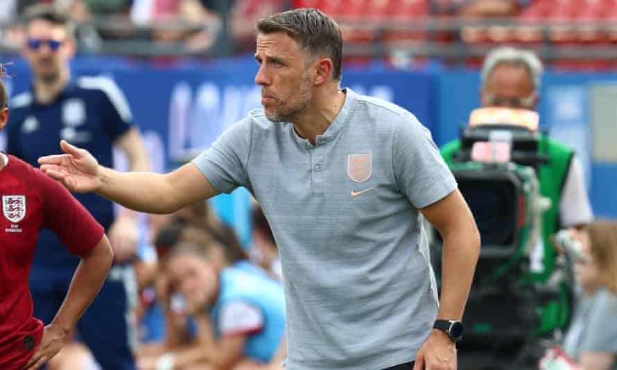 Phil Neville has lost seven of the last 11 games in charge of England's women team.