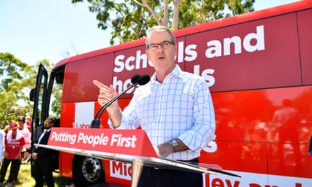 NSW Labor leader Michael Daley said he wanted to 'make NSW a global leader of the clean energy industry'.