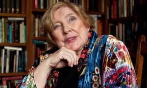 Wry humour … Fay Weldon.
