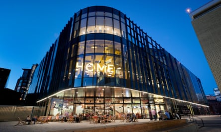 Home centre for contemporary arts in Manchester.