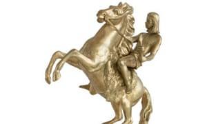 Corin Johnson's macquette for a statue of Nick Cave